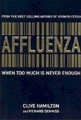 The cover of the book Affluenza