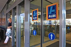 Photo of an Aldi supermarket