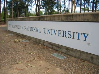 Photo of the A N U, the Australian National University