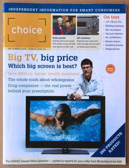 Photo of a Choice magazine