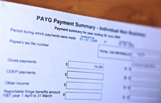 A photo of a payment summary