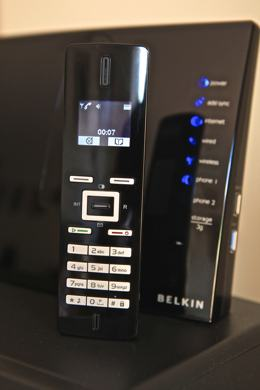 Photo of a voice over internet protocol, or voip phone