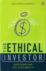 A photo of the cover of The Ethical Investor