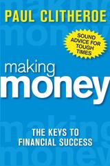 A photo of the cover of the book Making Money by Paul Clitheroe
