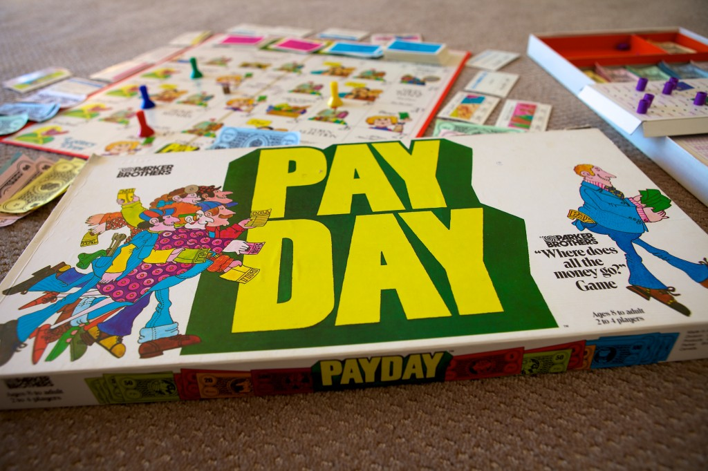 Photo of the board game Payday.
